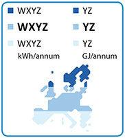 Consumo scaldacqua e mappa europea irraggiamento solare.