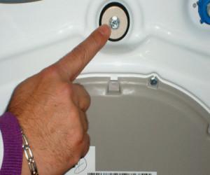 Viti blocco cestello lavatrice infissi del bagno in bagno for Cestello lavatrice