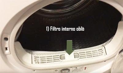 Filtro asciugatrice.